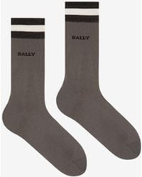 Bally Mens Cotton Socks - Black