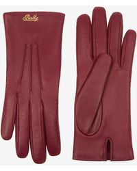 Bally - Leather Gloves - Lyst