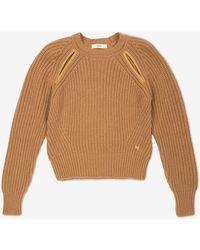 Bally Cutaway Detail Sweater - Brown