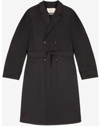 Bally Double-breasted Trench Coat - Blue