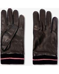 Bally Leather Gloves - Black