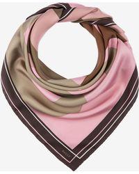 Bally - Printed Silk Scarf - Lyst