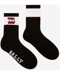 Bally B Logo Socks - Black