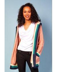 Baloot Clothing Mona Hooded Coat - Multicolour