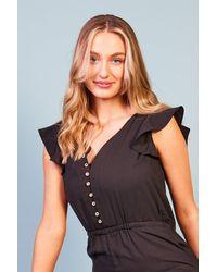 Baloot Clothing Jacobella Button Front Jumpsuit - Multicolour