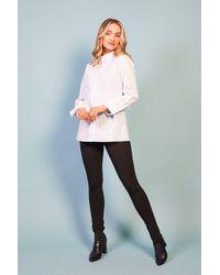 Baloot Clothing Penelope Ruffle White Shirt