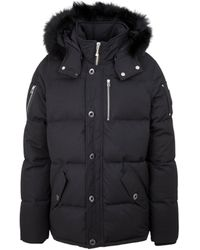 Moose Knuckles 3q Down Jacket With Adjustable Side Zippers S - Black