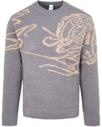 Berluti Signature Sweater - Grey