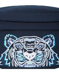 KENZO Nylon Belt Bag - Blue
