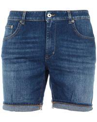 Dondup Shorts Denim - Blue