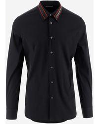 Alexander McQueen Shirts - Black