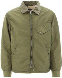"Engineered Garments ""driver"" Nylon Jacket - Green"