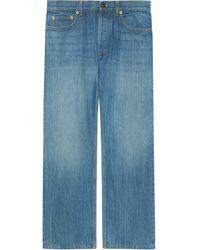 Gucci X Disney Eco Denim Jeans - Blue