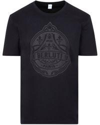 Berluti Cotton Logo T-shirt Tshirt - Multicolor
