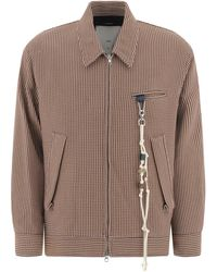 """Song For The Mute """"coach"""" Jacket - Natural"""