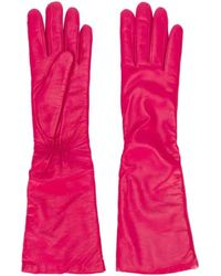 P.A.R.O.S.H. Three-quarter Length Gloves - Pink