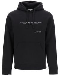 The Silted Company - Estate Hooded Sweatshirt With Print - Lyst