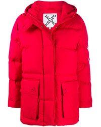 KENZO Coats Red