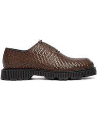 Berluti Braided Venezia Intenso Shoes - Brown