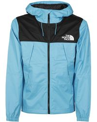 The North Face North Face Coats Light - Blue