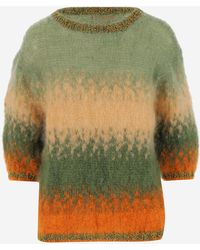 Rose Carmine Jumpers - Green