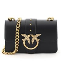 Pinko Love Mini Icon Simply 4 Bag - Black