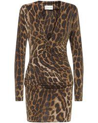 Alexandre Vauthier Mini Dress - Brown