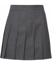 Thom Browne Gray Skirt