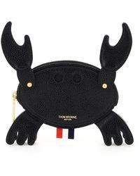 Thom Browne Crab Belt Pouch - Black