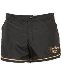 Moschino Logo Swimshorts - Black