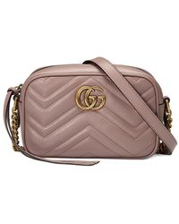 Gucci GG Marmont Small Matelassé Shoulder Bag - Multicolor