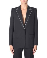 Givenchy Wool Blazer With Strass - Multicolour