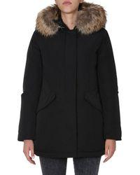"Woolrich ""luxury Arctic"" Down Jacket - Black"
