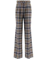 Gabriela Hearst Vargas Tartan Pants - Multicolour