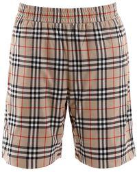 Burberry - Vintage Check Bermuda Shorts - Lyst