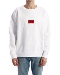 424 Sweatshirt Logo - White