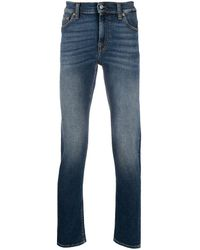 7 For All Mankind Seven Jeans Blue