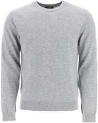 A.P.C. Crewneck Knit Jumper - Grey