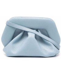 THEMOIRÈ Bios Light Blue Vegan Leather Handbag