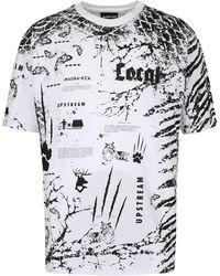 Mauna Kea Cotton T-shirt - White