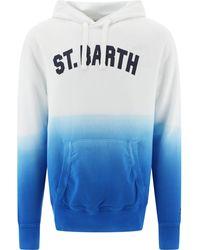 Mc2 Saint Barth Manhattansdes01 Other Materials Sweatshirt - Blue