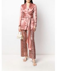 L'Autre Chose L'autrechose Sequin Embellished Pants - Pink