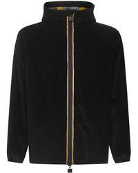 K-Way Coats Black