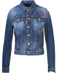 DSquared² Giubbino Jeans Blu - Blue