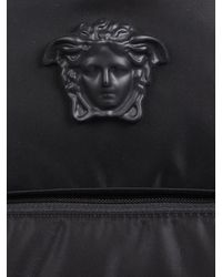 Versace - La Medusa Nylon Backpack - Lyst