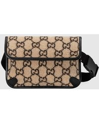 Gucci Belt Bag Beige Ebony/black - Multicolour
