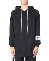 Rick Owens Hooded Sweater - Black