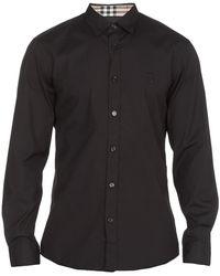 Burberry Shirts Black