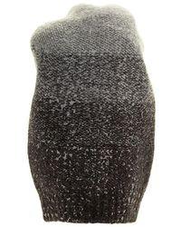 Fabiana Filippi Wool, Silk, Cashmere And Alpaca Beanie - Grey
