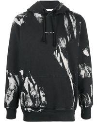 1017 ALYX 9SM Logo Drawstring Hoodie - Black
